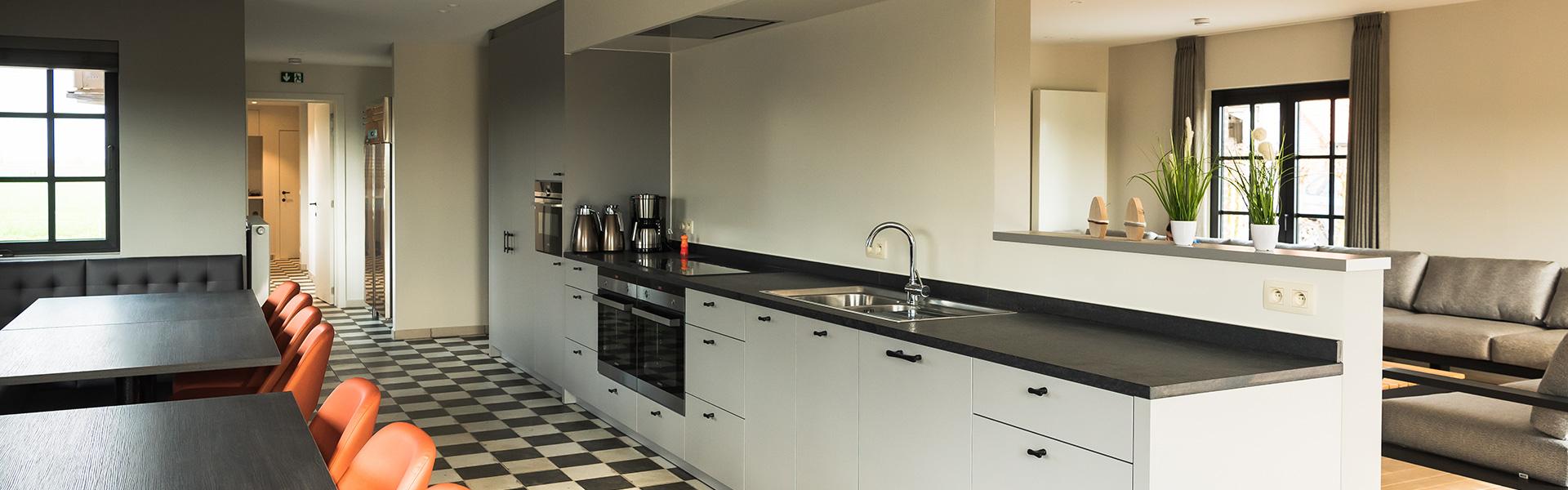 Vakantiehuis met professionele keuken