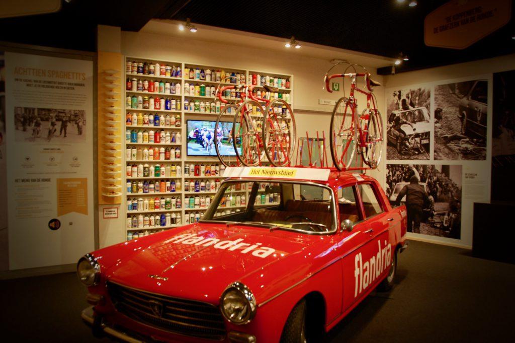 Bezoek het centrum De Ronde van Vlaanderen