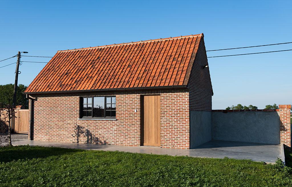 vakantiehuis met garage voor fietsen