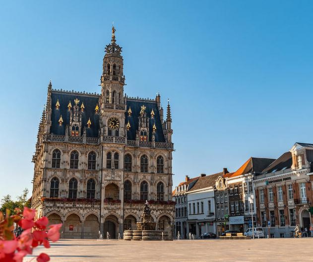 Op vakantie in Oudenaarde